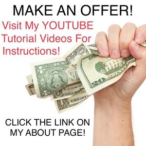 MAKE AN OFFER! Find out how from my Youtube video!